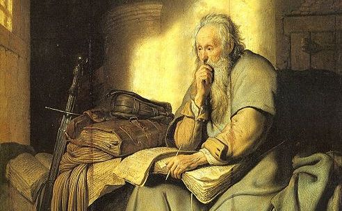 St. Paul in Prison by Rembrandt